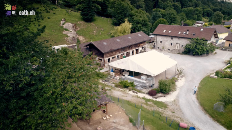 Fraternité Eucharistein: la maison d'Epinassey en Valais (Photo: Pierre Pistoletti)