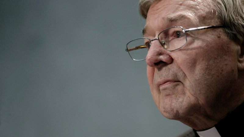 Le cardinal George Pell fait face à un avenir incertain (Photo:camera press Donatella Giagnori/Keystone)