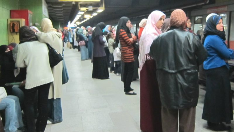"Le métro du Caire transporte quotidiennement 5 millions de voyageurs (Photo:Melissa Wall/Flickr/<a href=""https://creativecommons.org/licenses/by-nc/2.0/legalcode"" target=""_blank"">CC BY-NC 2.0</a>)"