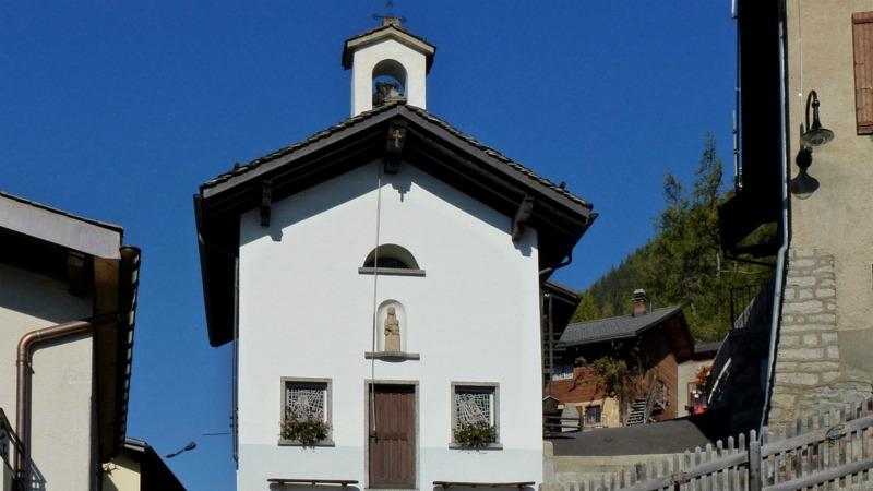 Chapelle sainte Anne, dans le hameau de La Rosière (Photo: Jean-Louis Pitteloud flickr.com)
