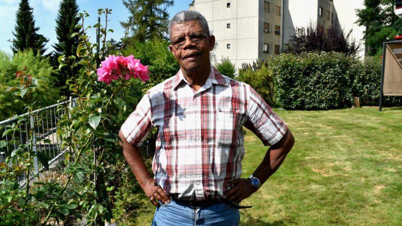 Charles Ridoré, fondateur de 'Solidarité Fribourg Haïti', une association née en 2010 (Photo:  Jacques Berset)