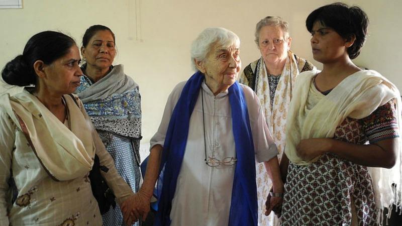 La religieuse et doctoresse allemande Ruth Pfau, 'mère des lépreux' au Pakistan (Photo: Caritas Autriche)