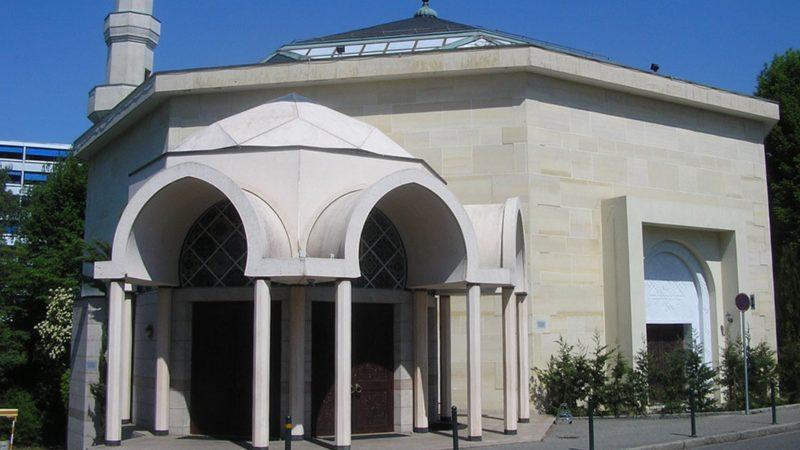 La mosquée de Genève au Petit-Saconnex (photo wikimedia commons MHM55 CC BY-SA 1.0)