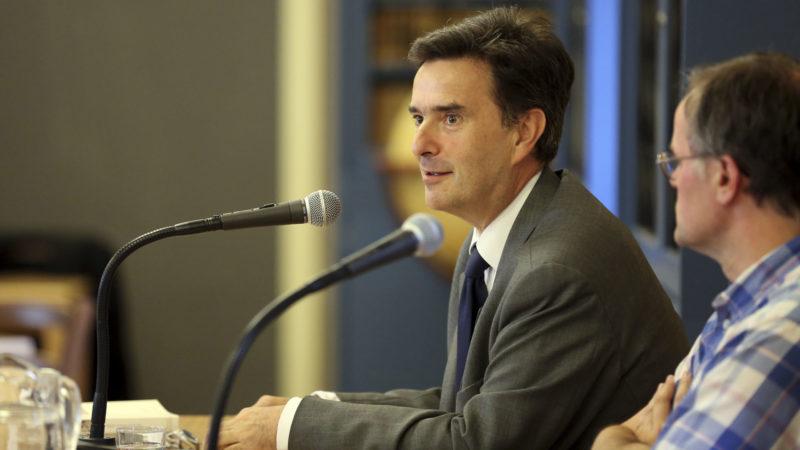 Pierre-Yves Fux, ambassadeur de Suisse près le Saint-Siège décrit un dialogue euro-méditerranéen difficile mais jamais rompu. (Photo: B. Hallet)
