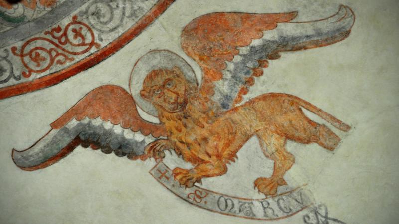 """Le lion est le symbole de l'évangéliste Marc (Photo: Helen Simonsson/Flickr/<a href=""""https://creativecommons.org/licenses/by-sa/2.0/legalcode"""" target=""""_blank"""">CC BY-SA 2.0</a>)"""