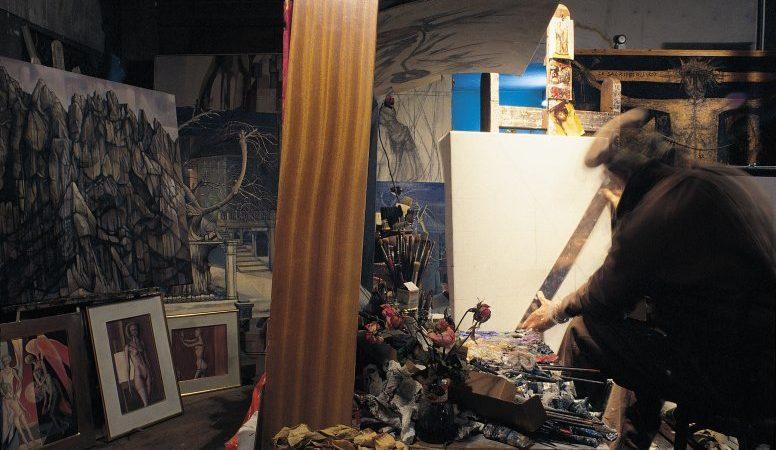 L'atelier d'Armand Niquille se trouvait à la Rue de Romont, dans le centre de Fribourg (Photo: Fondation A. Niquille)