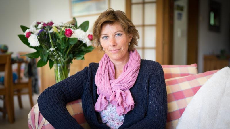 """""""Le jeûne n'est pas un châtiment. C'est un enrichissement"""", assure Priscille Hunziker (Photo: Pierre Pistoletti)"""