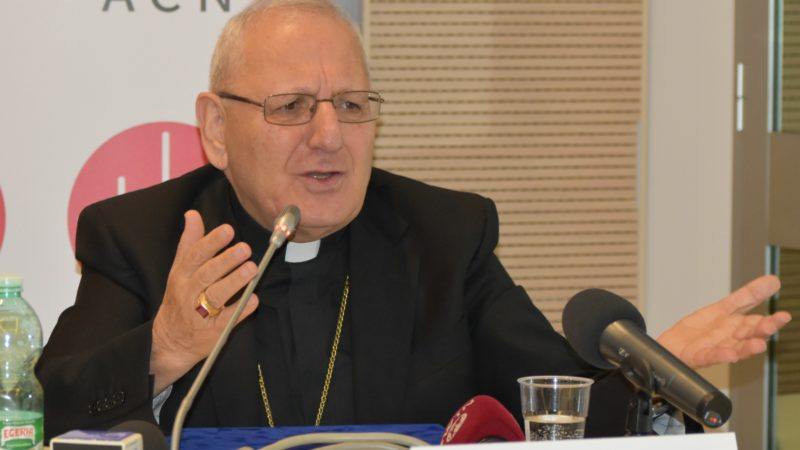 Irak Patriarche chaldéen Louis Raphaël Sako (Photo:  Jacques Berset)