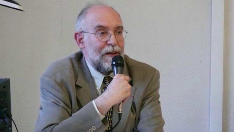 Le pasteur luthérien Jacques-Noël Pérès, co-président du Groupe des Dombes (Photo:  Peter Potrowl wikimedia)