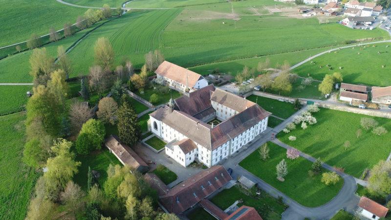 Le monastère de la Fille-Dieu à Romont, membre l'ordre des cisterciens de la stricte observance | © Pierre Pistoletti