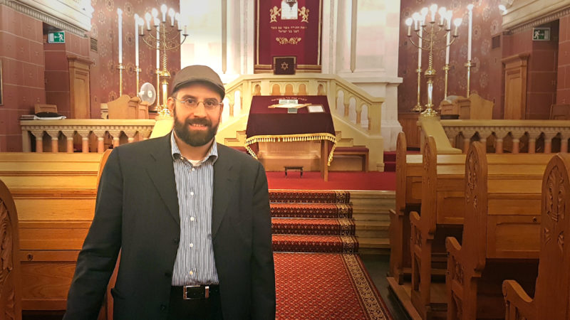 Eliezer Shaï Di Martino: le futur rabbin de la communauté israélite de Lausanne. (Photo: Aline Jaccottet/Protestinfo/DR)