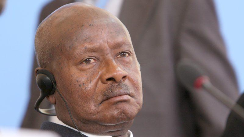 Le président ougandais Yoweri Museveni est au pouvoir depuis 1986 (Photo:Foreign and Commonwealth Office/Flickr/CC BY 2.0)