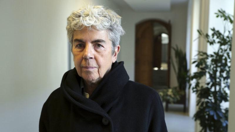 Fribourg le 13 octobre 2017. La philosophe française Chantal Delsol.   © B. Hallet
