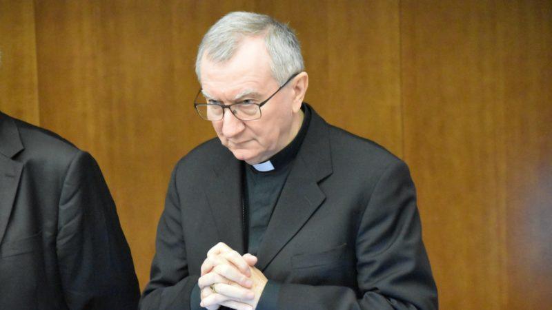 Le cardinal Pietro Parolin, secrétaire d'Etat du Saint-Siège (© Jacques Berset)