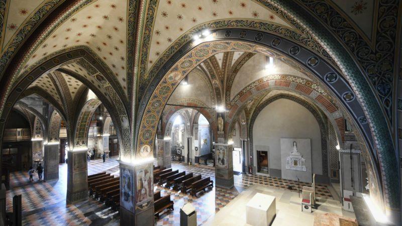 Lugano La cathédrale San Lorenzo restaurée (Photo:  Diocèse de Lugano)