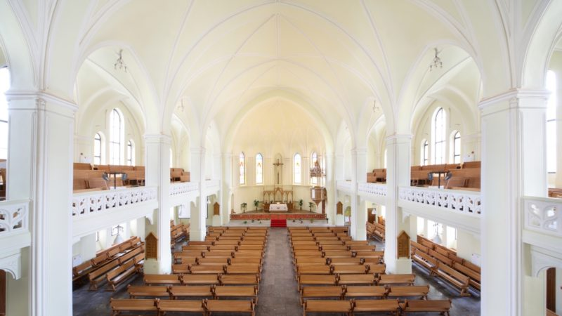 La cathédrale luthérienne Saints Pierre et Paul de Moscou (DR)