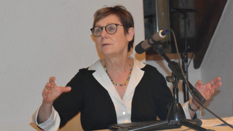 Martine Brunschwig Graf, présidente de la Commission fédérale contre le racisme (CFR) ¦ © Jacques Berset