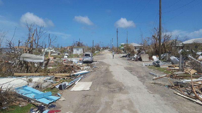 Dégâts causés par l'ouragan Irma à Antigua et Barbuda en septembre 2017. | © Silva Lauffer/UNDAC