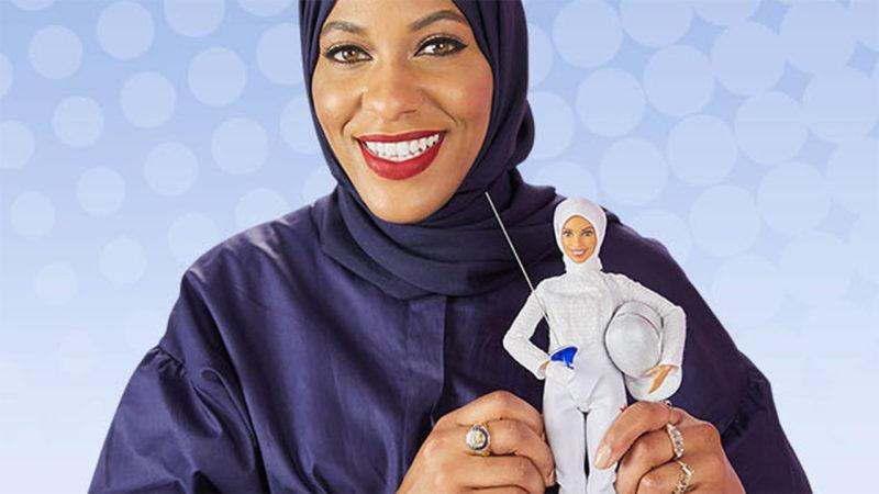 Mattel a présenté lundi sa première Barbie voilée (DR)
