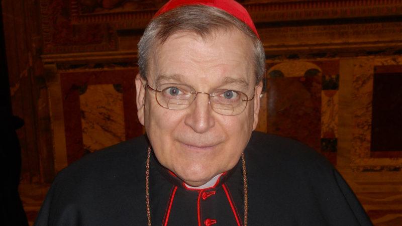 "Amoris laetitia provoque ""une confusion grandissante"", selon le cardinal Burke (DR)"
