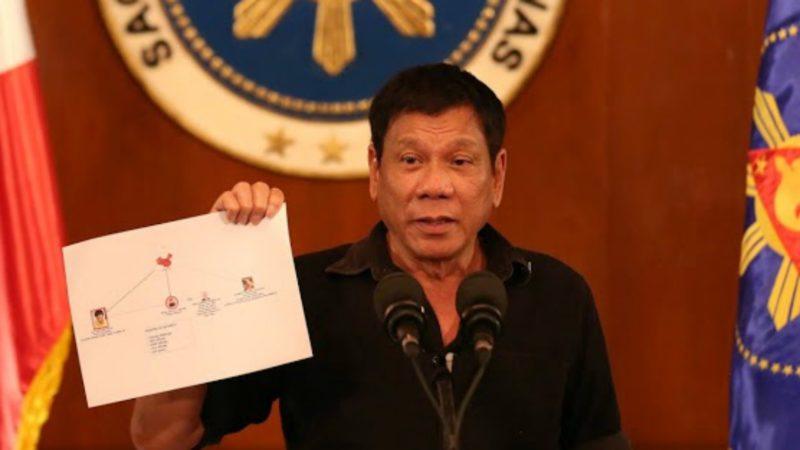 La guerre contre la drogue du président Duterte aurait déjà fait près de 12'000 morts (Photo:Wikimedia)