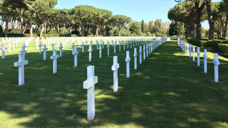 "Le pape François s'est rendu au cimetière militaire de Nettuno (Photo:kitto1975/Flickr/<a href=""https://creativecommons.org/licenses/by-nc-nd/2.0/legalcode"" target=""_blank"">CC BY-NC-ND 2.0</a>)"
