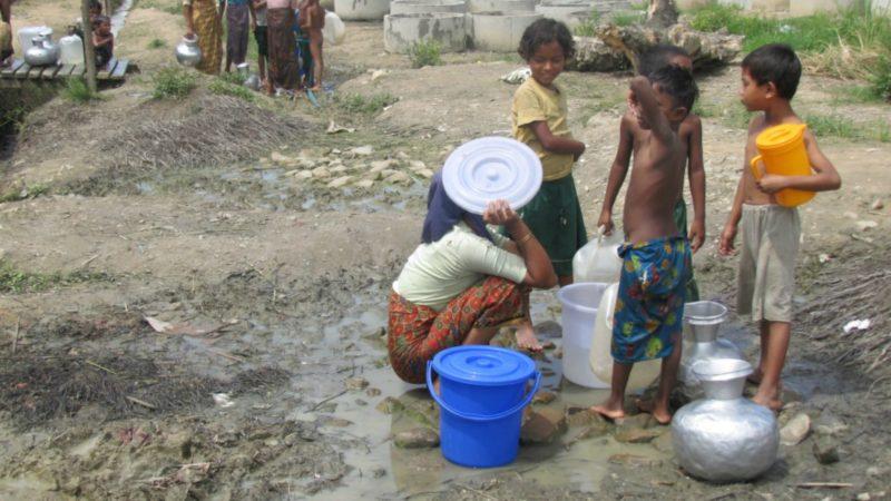Les conditions de vie sont précaires pour les Rohingyas au Bangladesh (Photo: European Commission DG/Flickr/CC BY-ND 2.0)