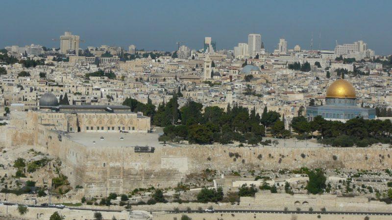 Jérusalem, ville de paix selon son étymologie, redevient une cité de conflit. | © Flickr/Cycling ManCC BY-NC-ND 2.0