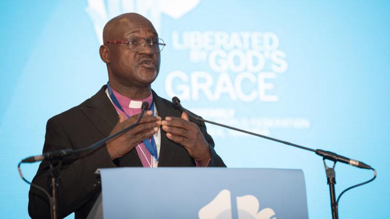 Musa Panti Filibus a été élu en mai 2017 président de la Fédération luthérienne mondiale (Photo: flickr/LWF/Albin Hillert)