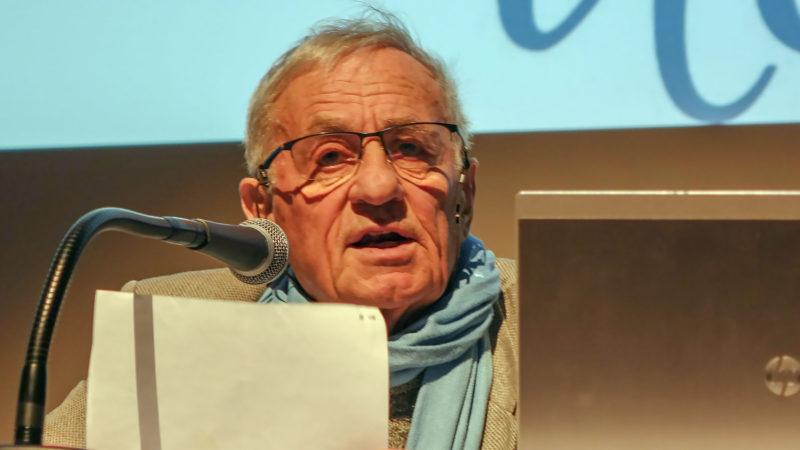 Le biologiste Jacquies Testart s'inquiète des dérives de l'eugénisme | © Maurice Page