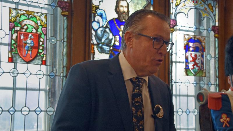 Marco Cattaneo, président de l'Association des amis de Frère Nicolas | © Grégory Roth