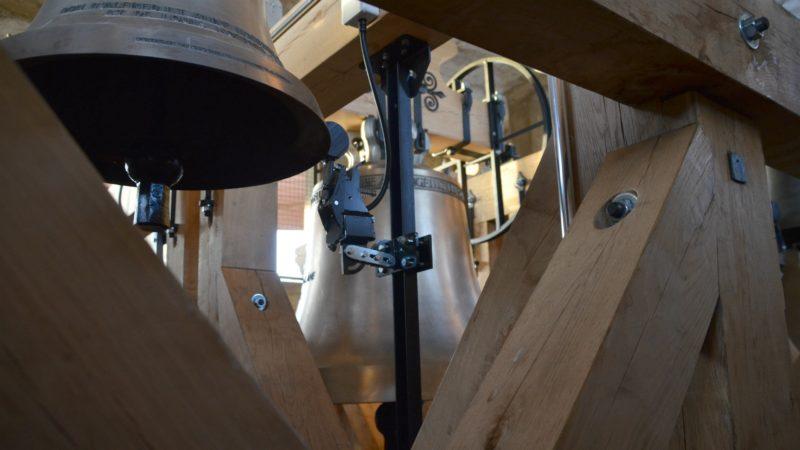 Les cloches de Villars-sur-Glâne n'avaient pas été rénovées depuis plus de 50 ans   © Véronique Benz