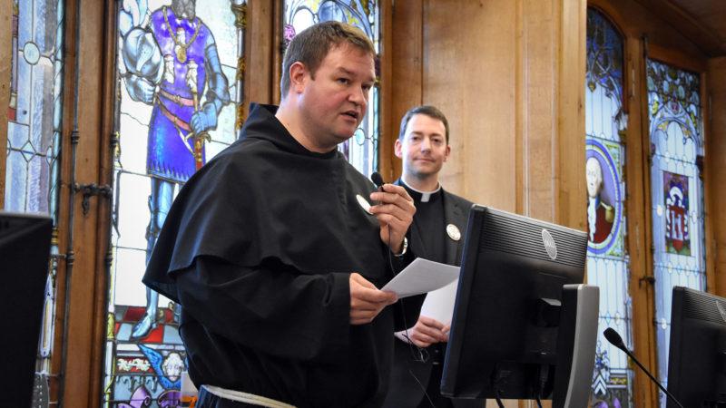 Pascal Marquard et Jean Glasson, vicaires épiscopaux pour les parties germanophone et francophone du canton de Fribourg | © Grégory Roth