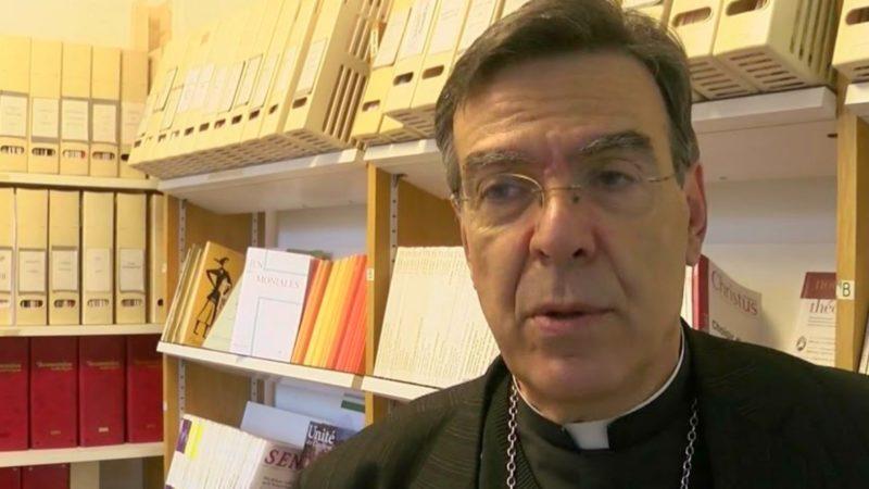 Mgr Michel Aupetit est évêque de Nanterre depuis 2014 (Photo:YouTube.com)