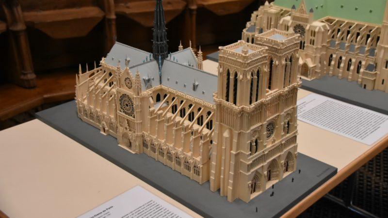 Notre-Dame de Paris à l'échelle 1:200 | © Raphaël Zbinden