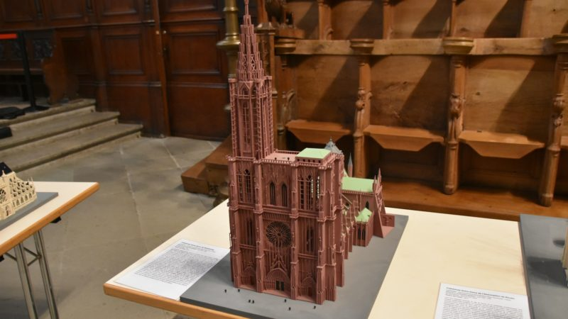 La cathédrale de Strasbourg en miniature | © Raphaël Zbinden