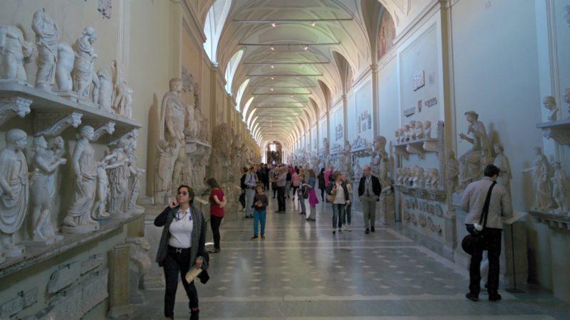 Toutes sortes de déchets sont retrouvés dans les couloirs des Musées du Vatican (Photo:Mario Sanchez Prada/Flickr/CC BY-SA 2.0)