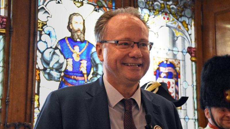Maurice Ropraz, président du Gouvernement du canton de Fribourg | © Grégory Roth