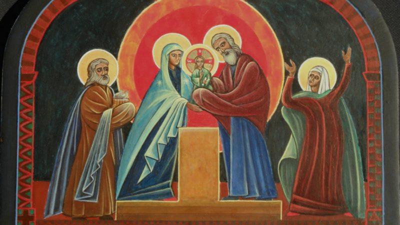 La présentation de Jésus au Temple