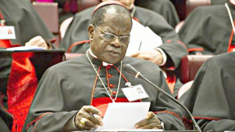 Cardinal Laurent Monsengwo Pasinya, archevêque de Kinshasa | ©  Cenco