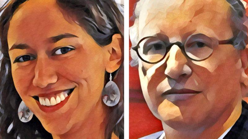 Marie Larivé et Jean-Marc Tétaz débattent de l'existence du purgatoire