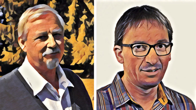 Jean-Blaise Fellay et Gilles Bourquin donnent leur avis sur Guillaume Farel