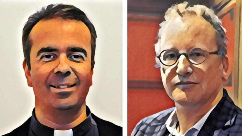 Pascal Desthieux et Jean-Marc Tétaz débattent de la pertinence du célibat.