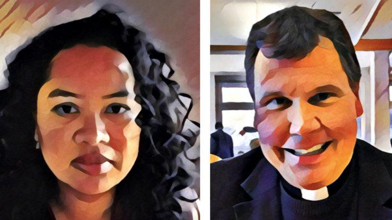 Nadine Manson et Dominique Rimaz ne sont pas d'accord sur le sacerdoce des femmes