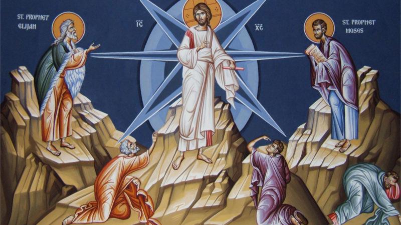 Transfiguration de Jésus. Icône, détail. | © Saints Joachim and Anna Orthodox Christian Church.