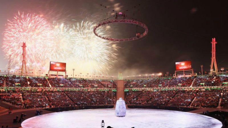 Feux d'artifice de la cérémonie d'ouverture des JO: un symbole de la réconciliation entre les deux Corée? ¦ © COJO PyeongChang