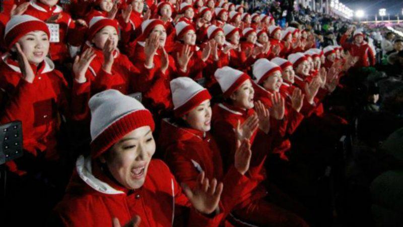 Cérémonie d'ouverture des Jeux olympiques à PyeongChang, le 9 février 2018 ¦© Cojo PyeongChang