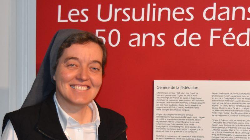 Soeur Anne-Véronique Rossi était supérieure générale des Ursulines de Fribourg | © Jacques Berset