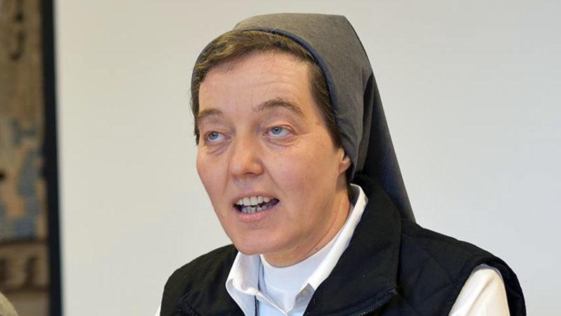 Soeur Anne-Véronique Rossi, supérieure générale des Ursulines de Fribourg | © Pierre Pistoletti