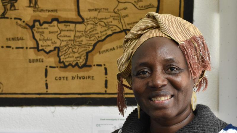 Alimata Traoré, du Mali, est l'hôte de la campagne oecuménique de Carême 2018 |  © Maurice Page